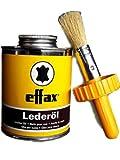 William Hunter Effax Leder-Öl, Dose mit Pinsel 475ml...