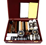 Pacona Schuhpflege Holzbox (professional) mit 27...