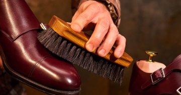 Perfekte Schuhpflege