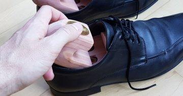 Schuhspanner richtig verwenden