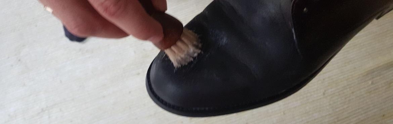 Schuhe erst imprägnieren dann Schuhcreme