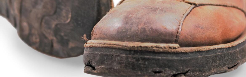 Kratzer Lederschuhe entfernen