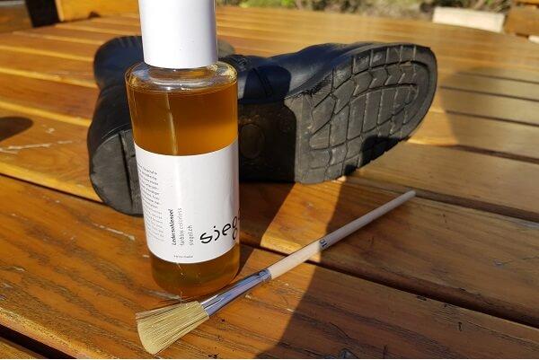 Siegol Ledersohlenöl zum Ledersohle pflegen