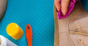 Nubukleder Schuhe pflegen