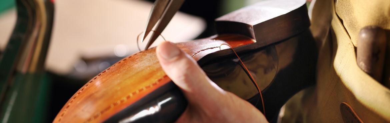 Rahmengenähte Schuhe pflegen