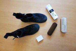 Schuhpflegeset für Rauleder im Test: Bericht & Produktvorstellung