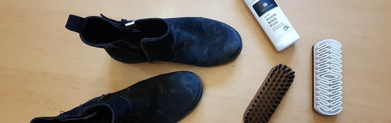 Schuhpflegeset für Rauleder im Test