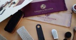Langer & Messmer 17 teiliges Schuhpflegeset