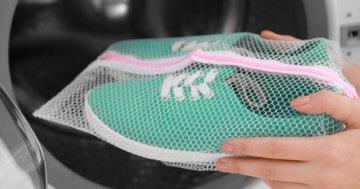 Schuhe in der Waschmaschine waschen