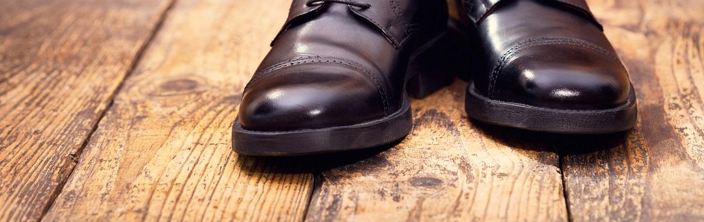 Kunstleder Schuhe pflegen